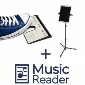AirTurn PED PRO + TechAssist + MusicReader Bundel
