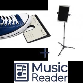 AirTurn PED PRO + TechAssist + MusicReader Bundle