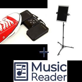 AirTurn DUO + TechAssist + MusicReader Bundel