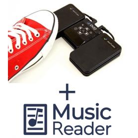 AirTurn DUO + MusicReader Bundel